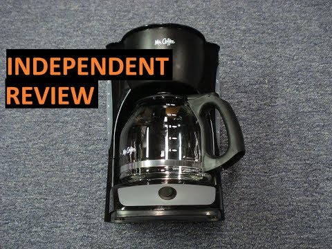 Review Mr Coffee CG13 RB 12 Cup Coffee Maker