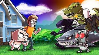 Minecraft | BABY VS THE APOCALYPSE - Final Battle! (Who