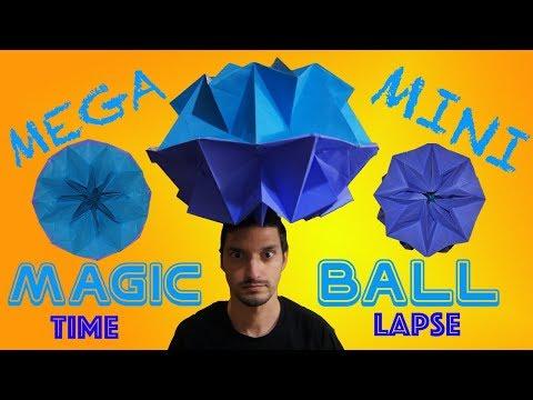 The MEGA Mini Magic Ball Challenge! | Time Lapse