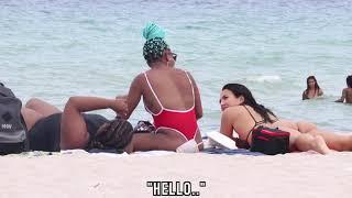 Sitting On Strangers Beach Towels!!
