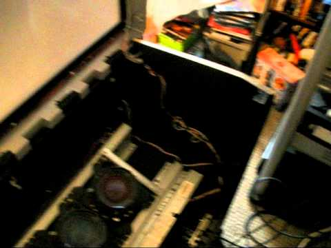 Clean the Rear projection T.V. Sonny 51inch..avi