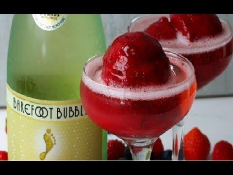 Sparkling Wine Berry Sorbet