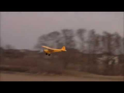 Flyzone Super Cub Select Scale Maiden Flight