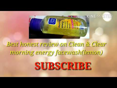 Clean & Clear Morning Energy face wash review/best honest review/affordable ☺☺☺