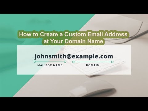 How to Create a Custom Email Address at Your Domain Name (contact@yoursite.com)|Urdu/Hindi 2018