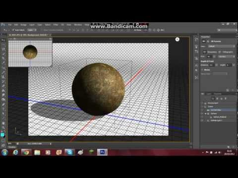 photoshop tutorial: how to make a 3D moon effect!