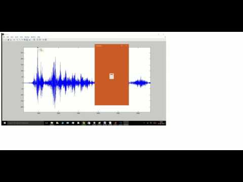 Simple Voice Biometric[Speaker Recognition] in Matlab from Basics