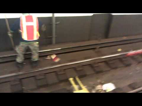 Keeping New York City's Subways Clean...Sort of...