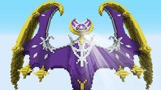 Minecraft vs Pokemon Sun/Moon  | GIGA Lunala vs Solgaleo | (PvZ/Pokego Land)