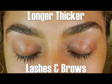 How to Grow Thicker, Longer Lashes and Brows