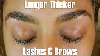 How To Grow Thicker Longer Lashes And Brows