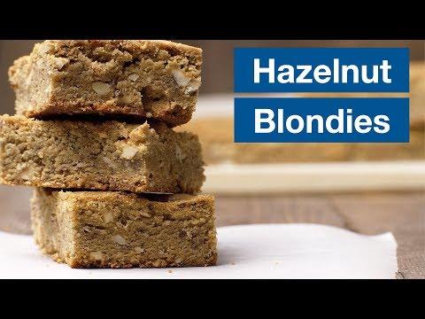 Hazelnut Brown Butter Blondies Recipe || Le Gourmet TV Recipes