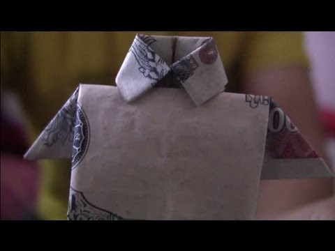 How to make a shirt from paper money