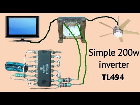 Download Simple 200W-600W inverter