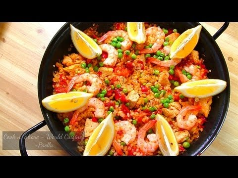 Simple Paella at Home