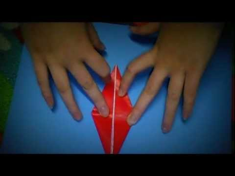 The Best Origami Crane Tutorial