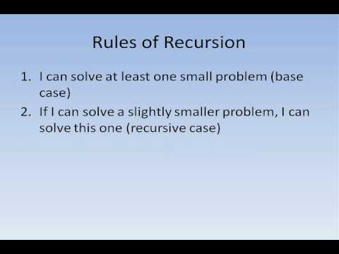 Java #20 - Recursion Part 1