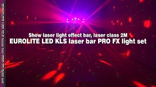 eurolite led kls laser bar pro fx light set cameo hydrabeam 100 rgbw lighting set