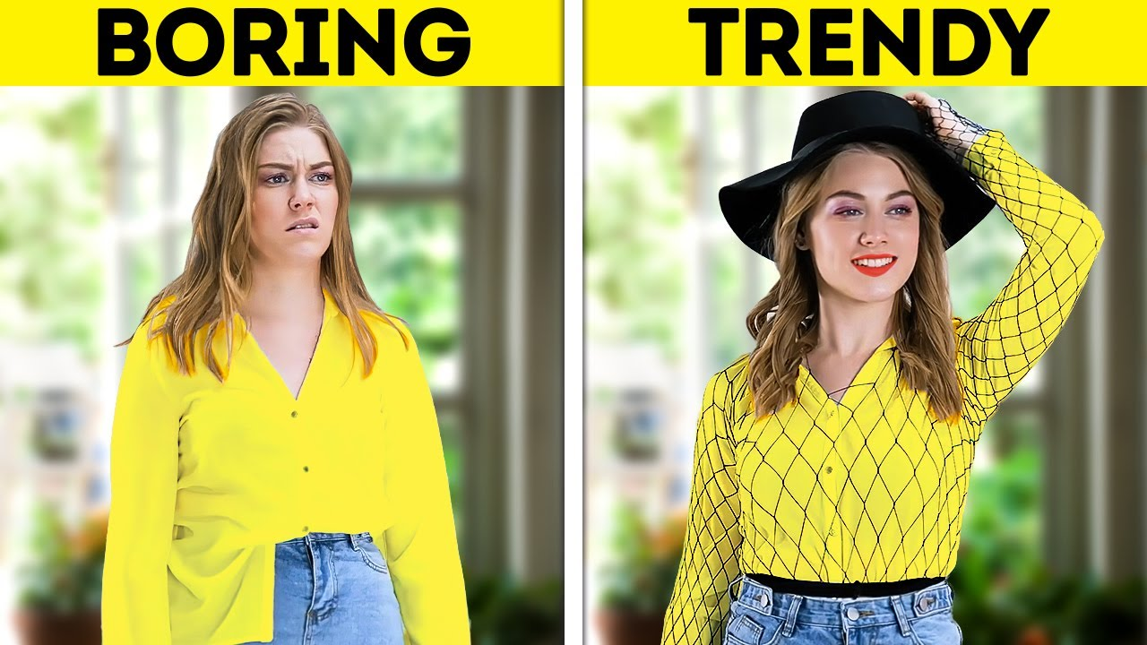 HOW TO UPGRADE YOUR LOOK || Cool And Trendy Clothing Tricks And Fashion Tips For Any Occasion