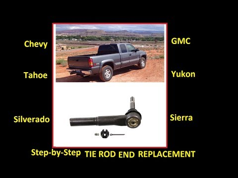 How to replace outer tie rod ends (MOOG): GM Truck Silverado Sierra Yukon Suburban
