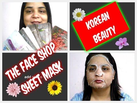 Korean Beauty   The Face Shop Sheet Mask   Angels reborn