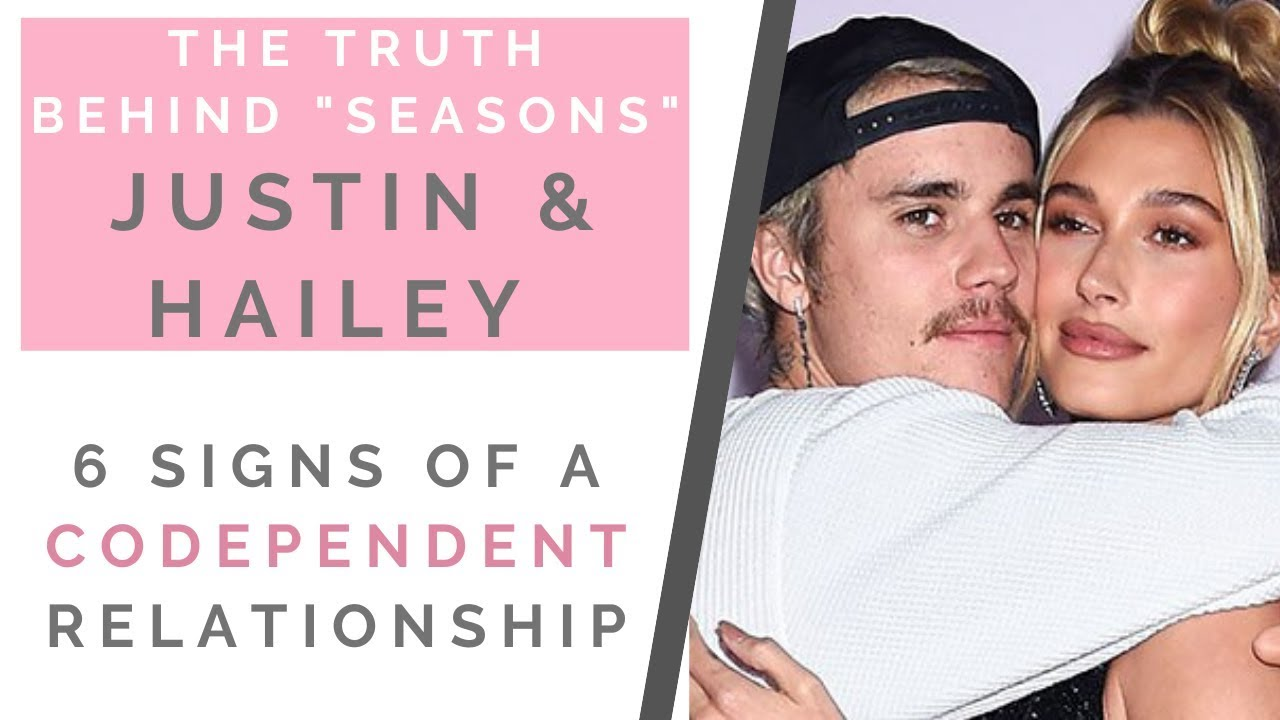 RED FLAGS FROM JUSTIN BIEBER & HAILEY BALDWIN IN 'SEASONS': Signs You're Codependent | Shallon