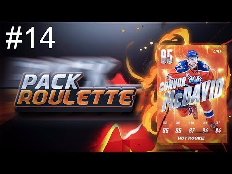 Evolution Packed- Pack Roulette S1E14  NHL 18 Hockey Ultimate Team