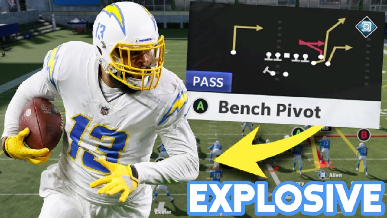 EXPLOSIVE ONE PLAY TD THAT BEATS EVERY COVERAGE! MADDEN 21 MONEY PLAY SCHEME!