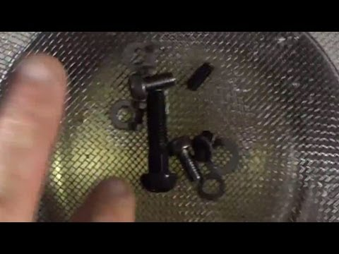 How To Remove Rust From Screws And Bolts