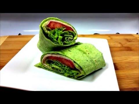 Healthy Turkey Wrap with Avocado Spread