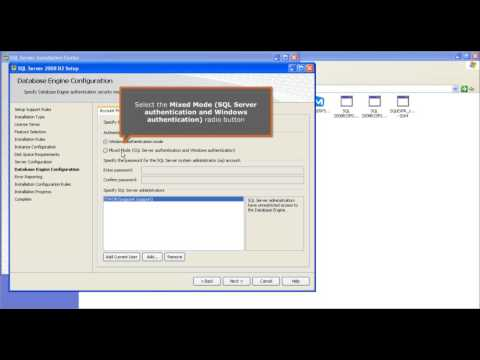 009  How to Manually Install SQL Server Database Engine with a New Instance