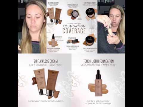 Youniques BB flawless vs liquid foundation