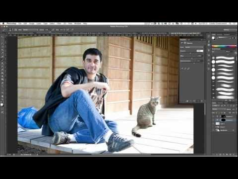 How to merge photos realistically in Photoshop CS6 tutorial