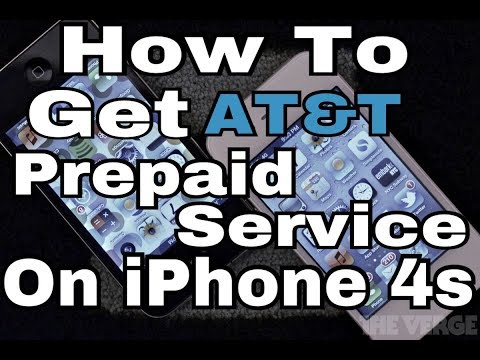 IPhone 4S On AT&T Prepaid Go Phone