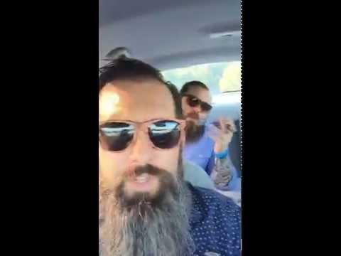 Smoking in the rental car! via Periscope