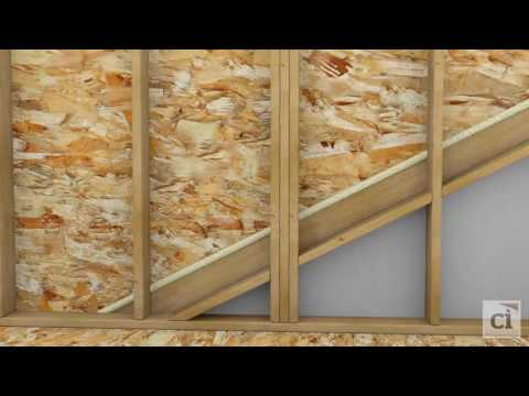 Insulating & Air Sealing Attic Knee Walls