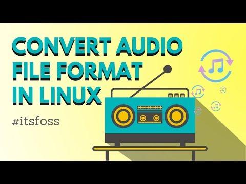 How to Convert Audio Format In Ubuntu