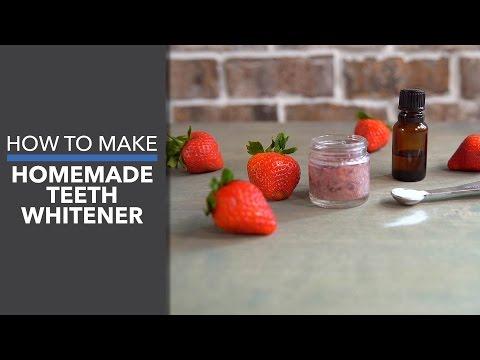 How to Make Homemade Teeth Whitener