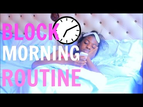UPDATED MORNING ROUTINE 2016!