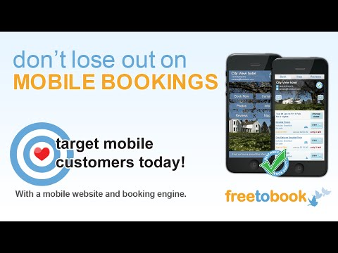 Mobile hotel website and Mobile hotel booking engine for hotels and others