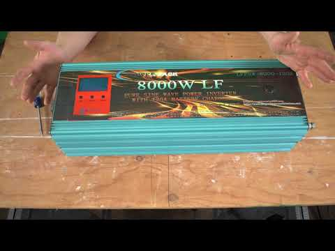 PowerJack 8KW Inverter - High speed fan modification
