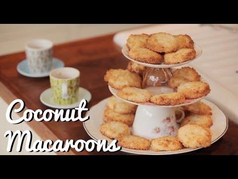 Home-made Coconut Macaroons Recipe
