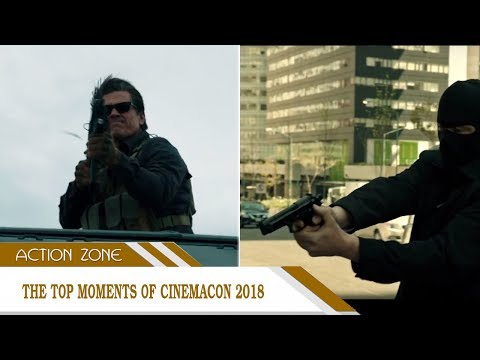 The top moments of CinemaCon 2018