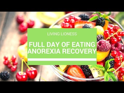 What I Eat in a Day | Anorexia Recovery | Living Lioness