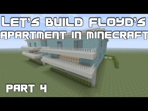 Let's Build Floyd's Apartment (Trevor's Safehouse) from GTA 5 in Minecraft: Part 4 (Final)