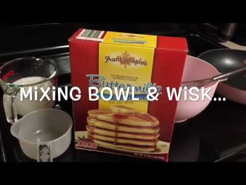 An Overview of Aldi's Aunt Maple's Pancake mix and Syrup...
