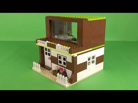 How to build a simple lego house instructions -