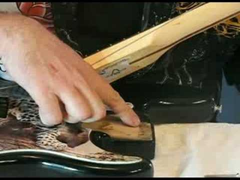 Replacing, Installing, Removing a Guitar Neck Plate
