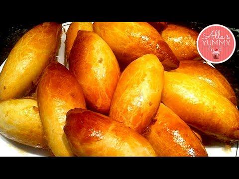 How to make Russian Piroshki - Best Homemade Piroshki Recipe - Домашние пирожки с мясом