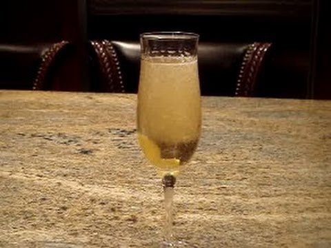Ginger Champange Cocktail Recipe